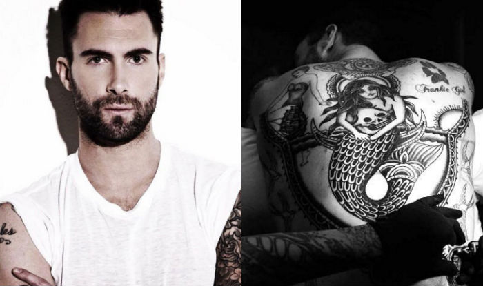 Maroon 5 Singer Adam Levine Unveils New Tattoo India Com Ideas And Designs