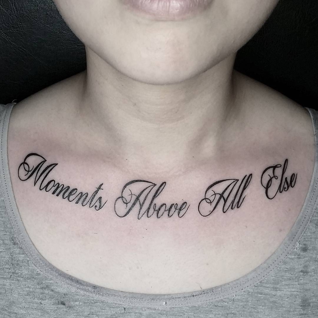33 Fabulous Collar Bone Tattoos That Flatter Your Shape Ideas And Designs