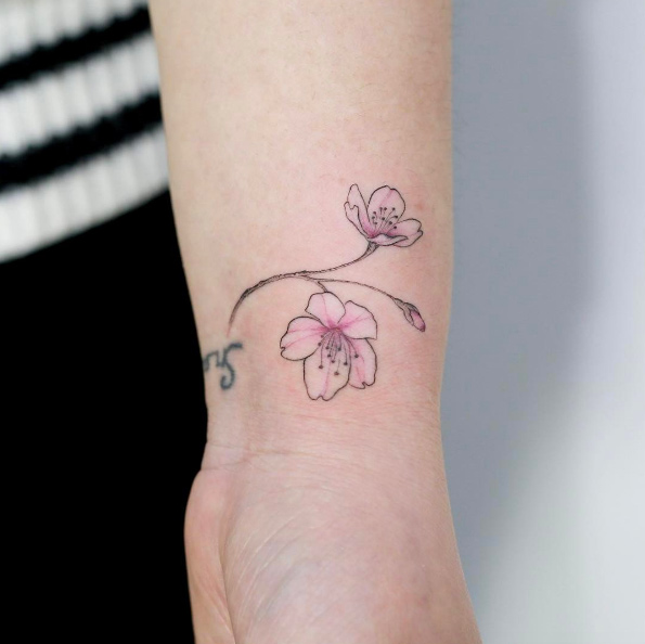 48 Cherry Blossom Tattoos That Are Way Beyond Perfect Ideas And Designs