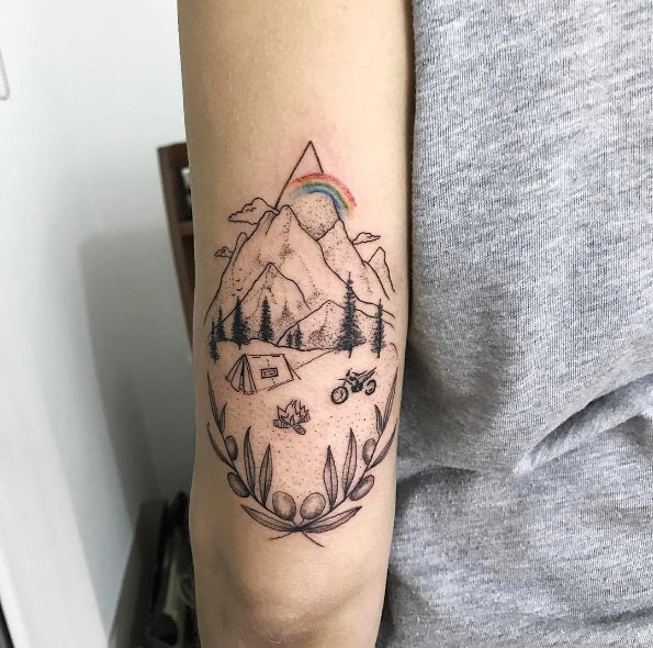 The Ultimate Guide To Mountain Tattoos 70 Photos Ideas And Designs