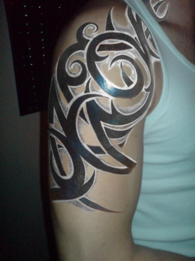 40 Tribal Sleeve Tattoos Tattoofanblog Ideas And Designs