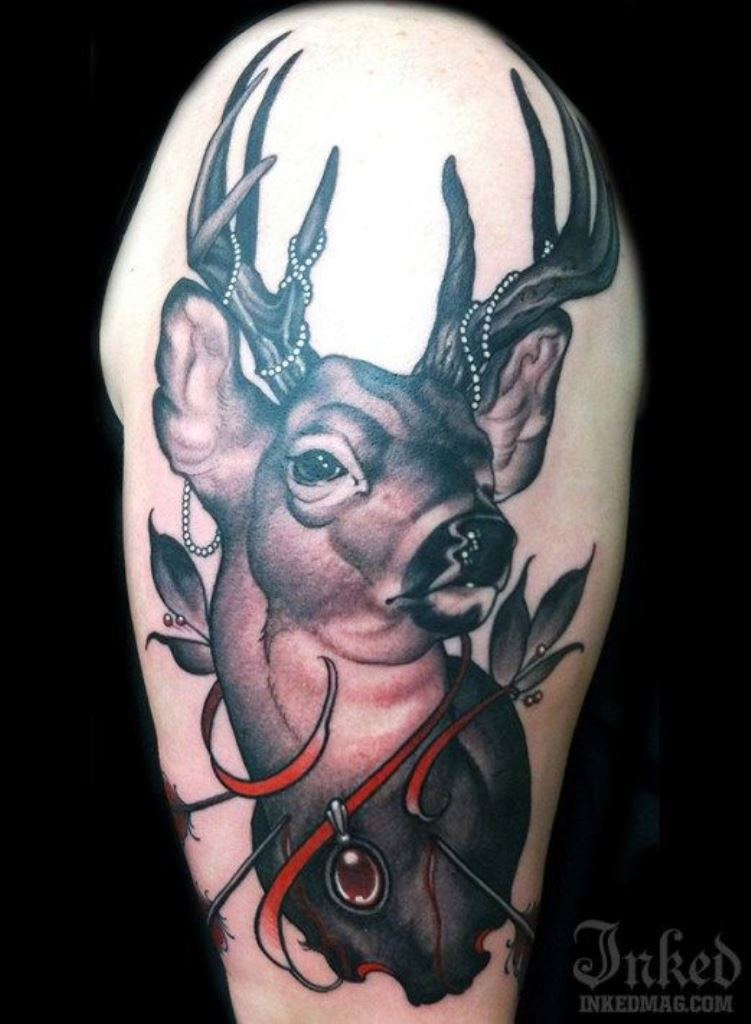 30 Deer Tattoos Tattoofanblog Ideas And Designs