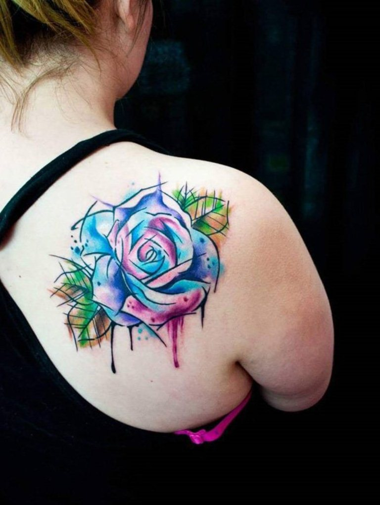 Shoulder Tattoos For Women Tattoofanblog Ideas And Designs