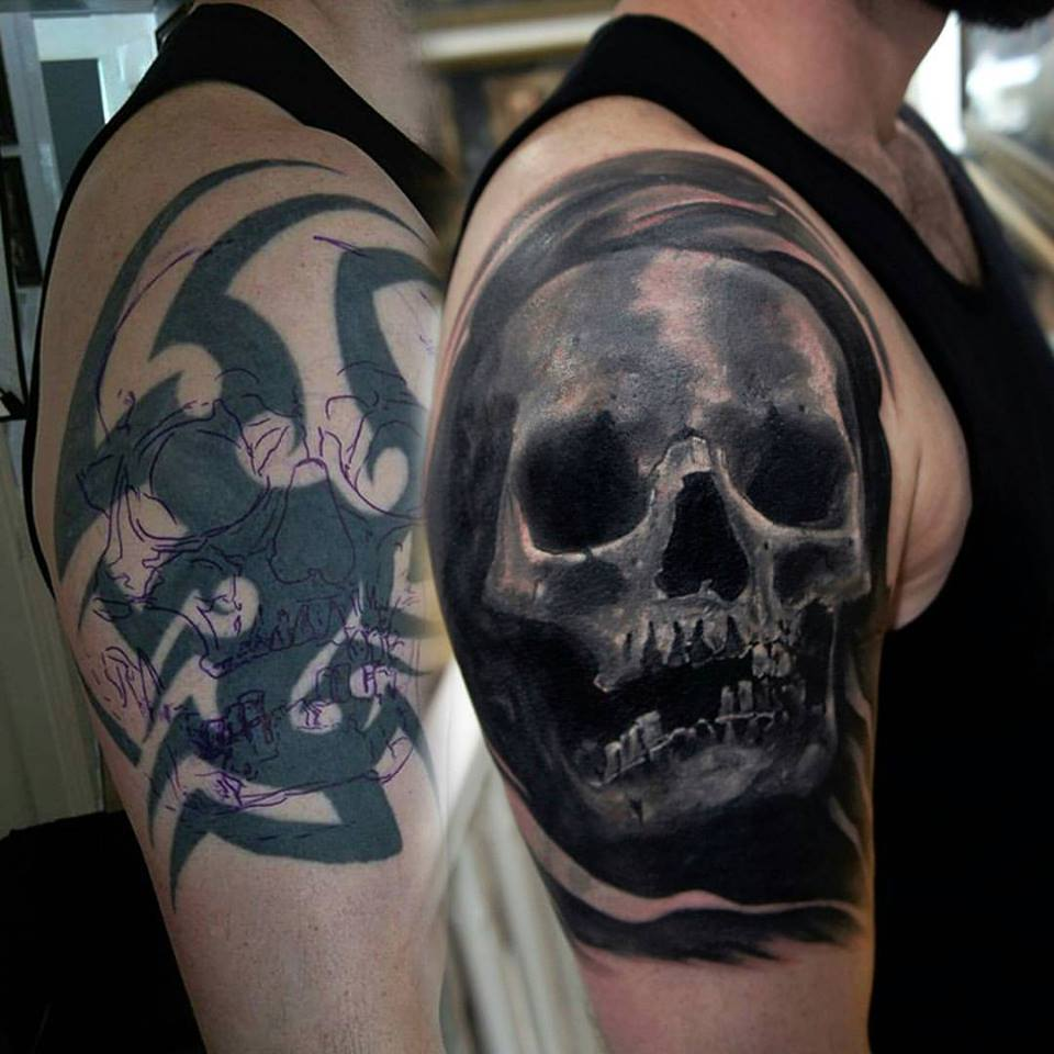 175 Unbelievable Cover Up Tattoo Ideas Before And After Ideas And Designs