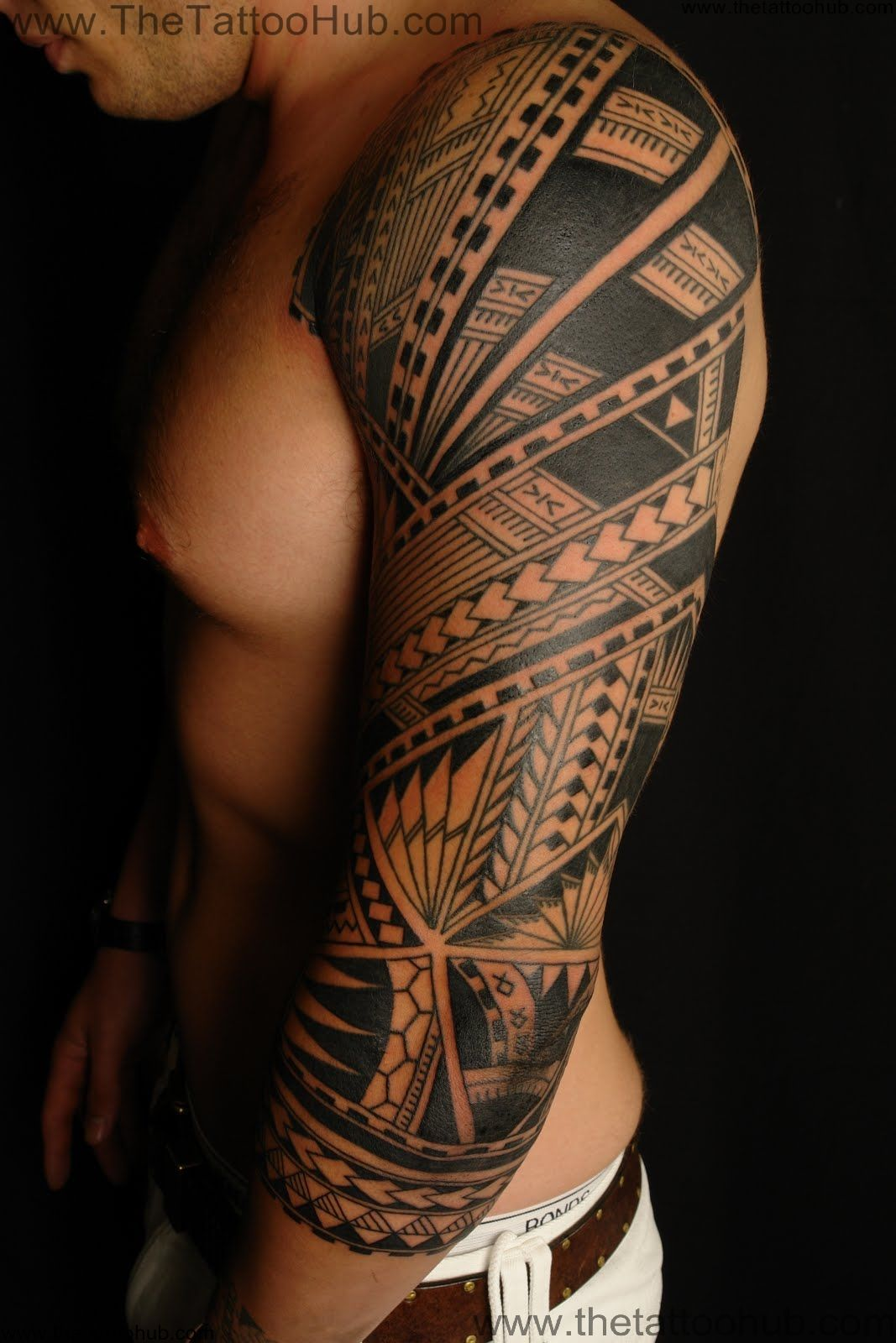 Polynesian Tribal Tattoos Ideas And Designs