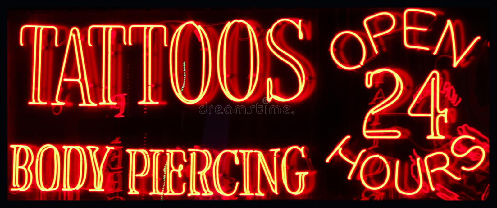 Tattoo And Body Piercing Shop Stock Image Image Of Ideas And Designs