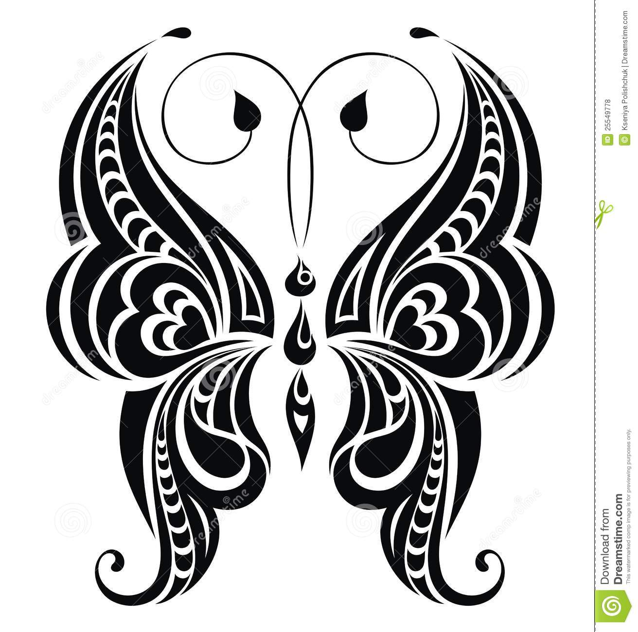 Abstract Butterfly Vector For Your Design Royalty Free Ideas And Designs