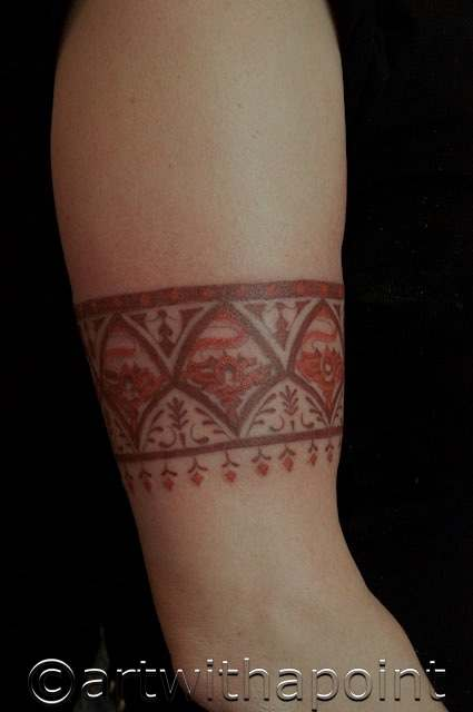 Henna Style Permanent Ink – Art With A Point Ideas And Designs