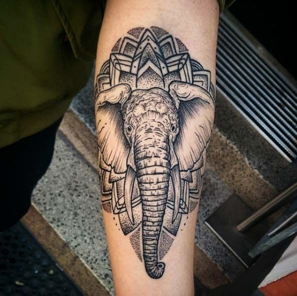 125 African Elephant Tattoo Designs To Express The Power Ideas And Designs