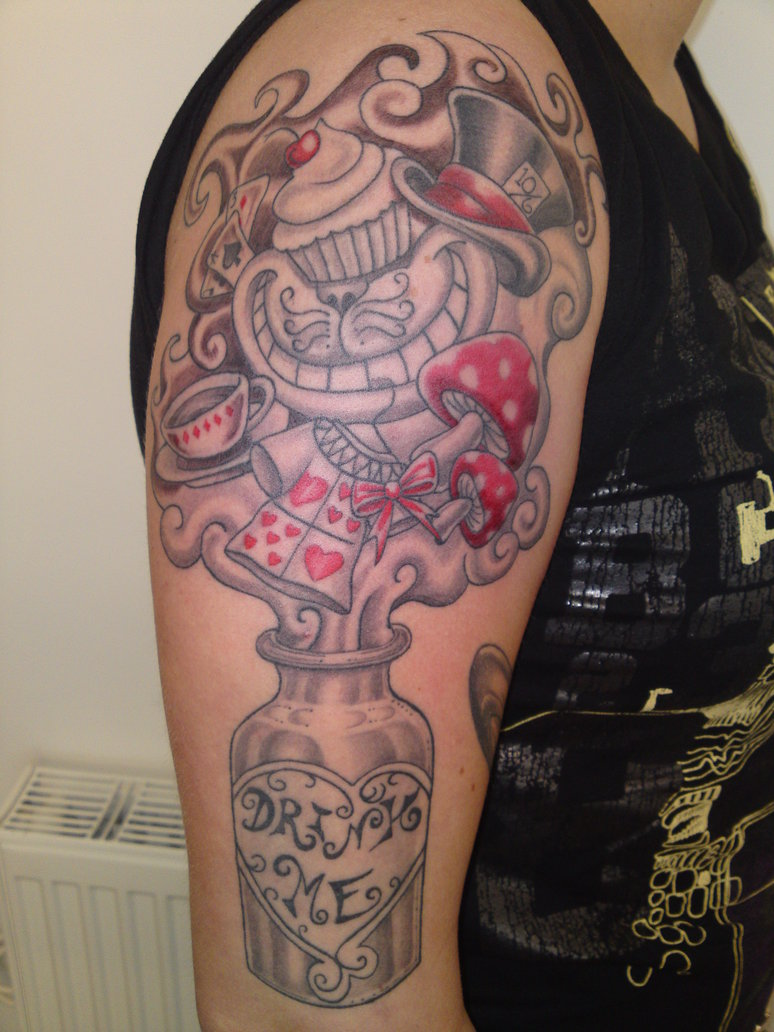 Alice In Wonderland Tattoos Designs Ideas And Meaning Ideas And Designs