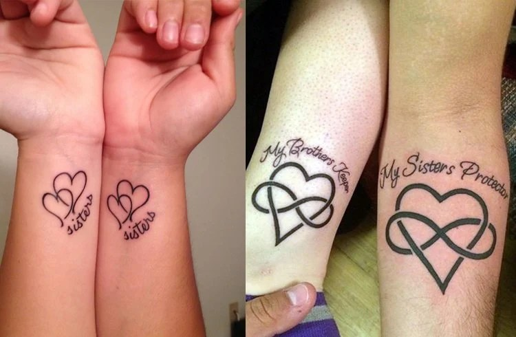 Sister Tattoos To Share Sibling Love Ideas And Designs