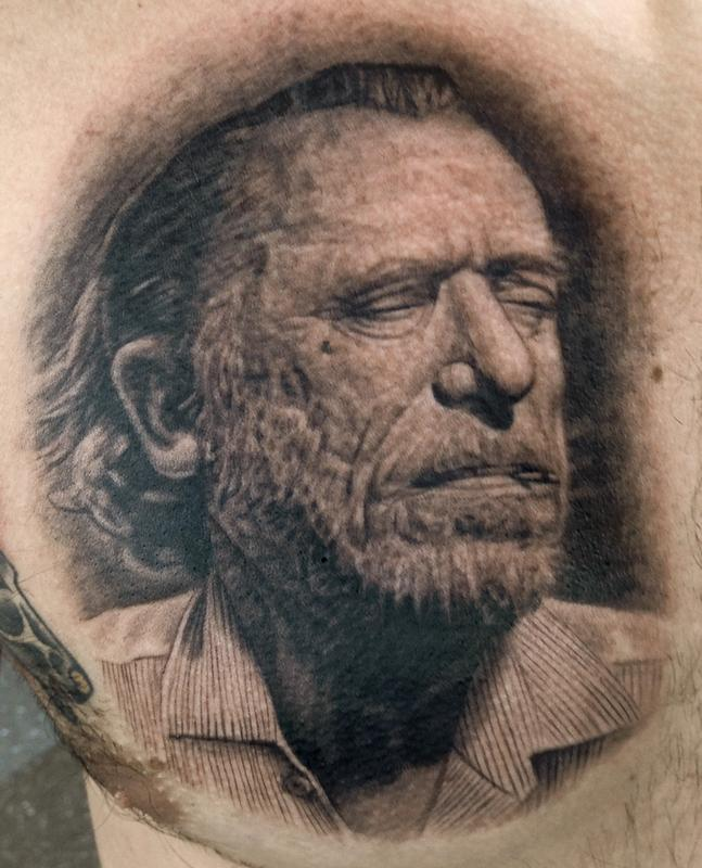 Charles Bukowski By Pepper Tattoos Ideas And Designs