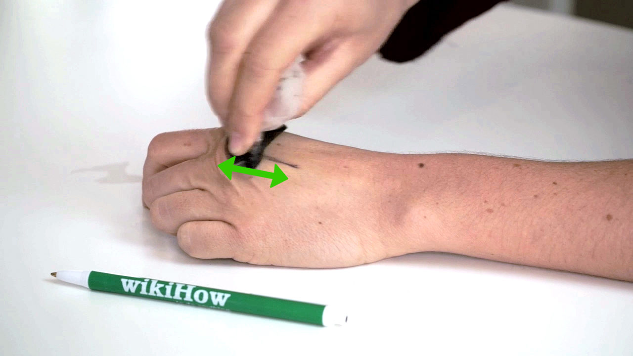 How To Get Pen Off Your Skin 9 Steps With Pictures Ideas And Designs