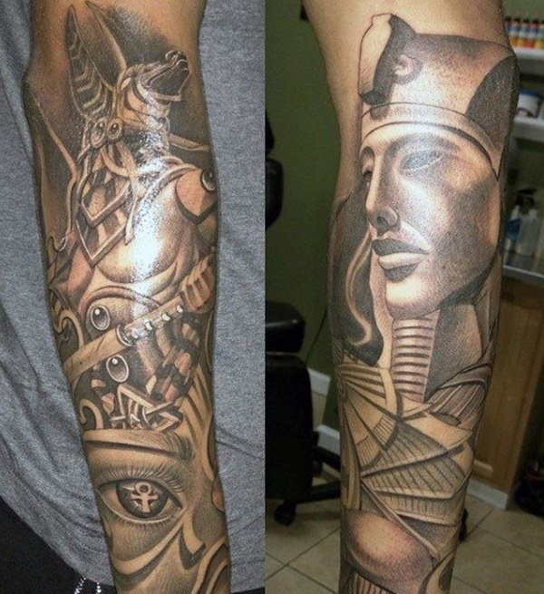 250 Egyptian Tattoos Of 2019 With Meanings Wild Tattoo Art Ideas And Designs