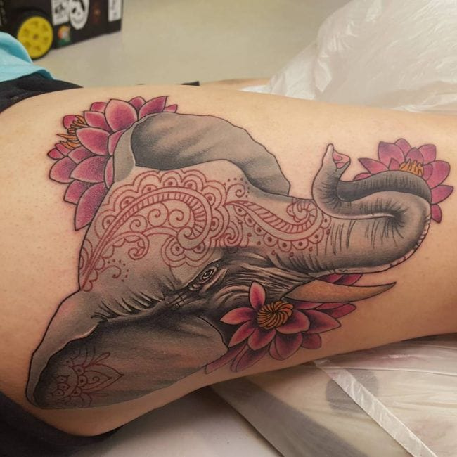 155 Elephant Tattoos Design Ideas With Meaning Wild Ideas And Designs