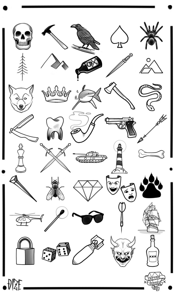 1001 Ideas For Unique And Meaningful Small Tattoos For Men Ideas And Designs