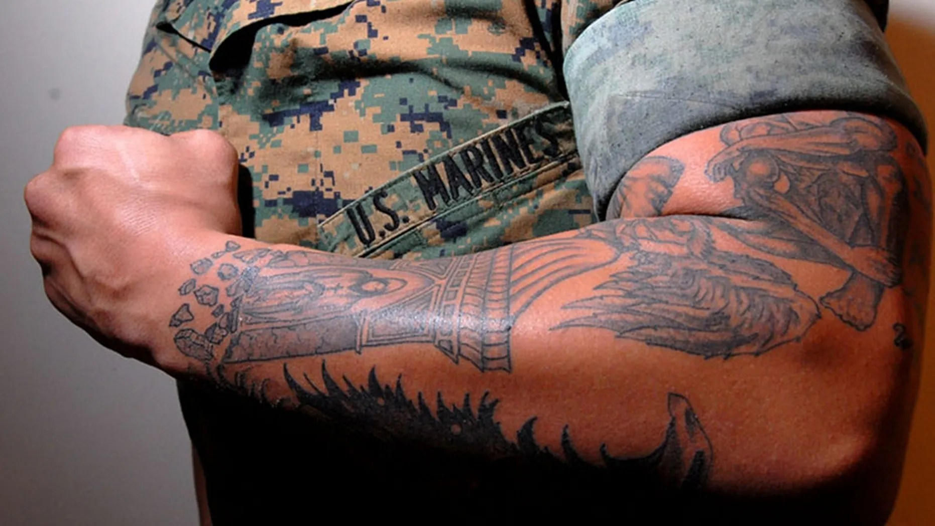 The Marines Ease Tattoo Rules The Strictest In The Ideas And Designs