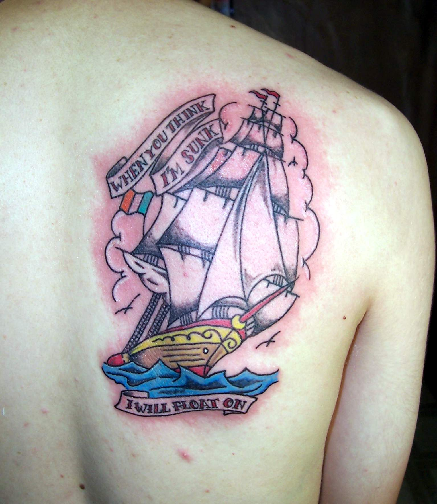 Ship Tattoo Designs 25 Bodysstyle Ideas And Designs