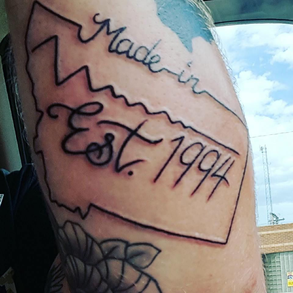 Forever Montana Tattoos In The Shape Of The Treasure Ideas And Designs