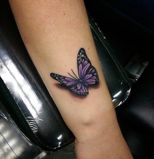 Perfect 3D Men Butterfly Tattoo Design Butterfly Tattoos Ideas And Designs
