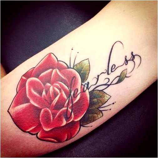 Rose Tattoos With Quotes Quotesgram Ideas And Designs
