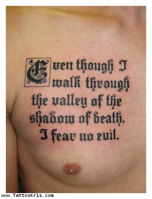 Bible Quotes Tattoos For Men Quotesgram Ideas And Designs