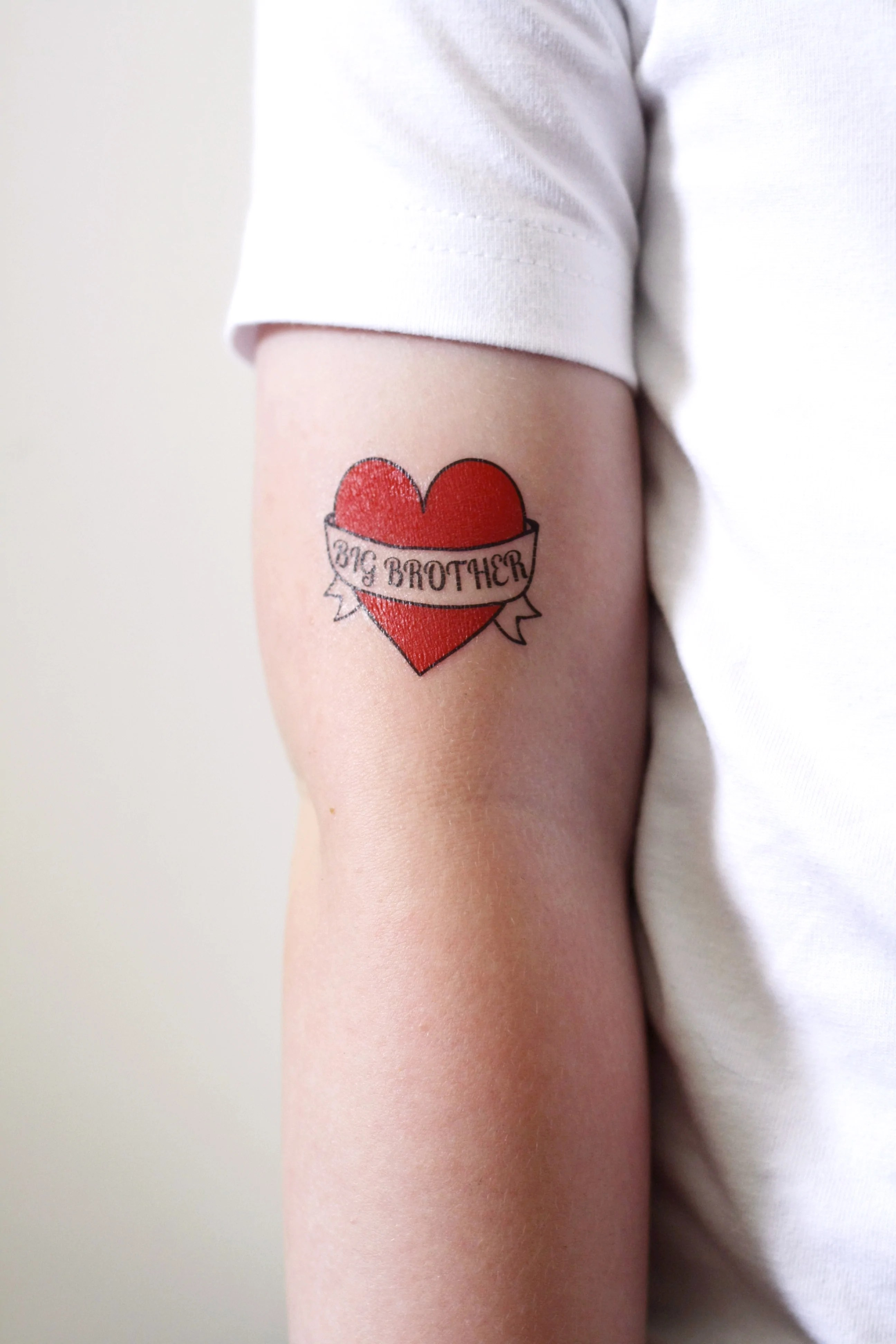 Big Brother Temporary Tattoo – Temporary Tattoos By Tattoorary Ideas And Designs