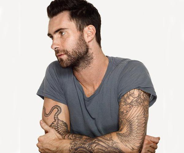 Adam Levine Tattoos 25 S*Xy Collections Design Press Ideas And Designs