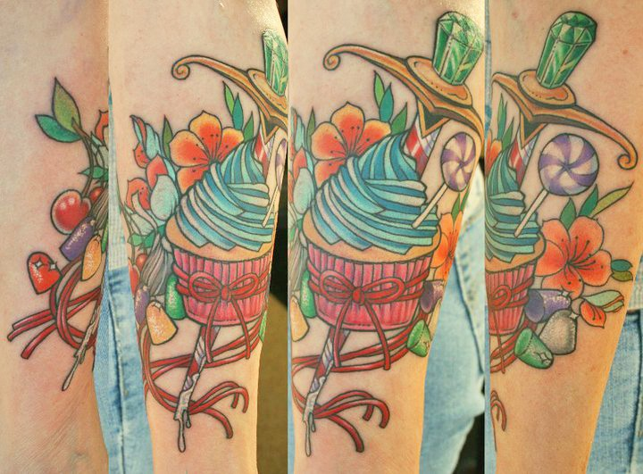 20 Cool Candy Tattoos – Desiznworld Ideas And Designs