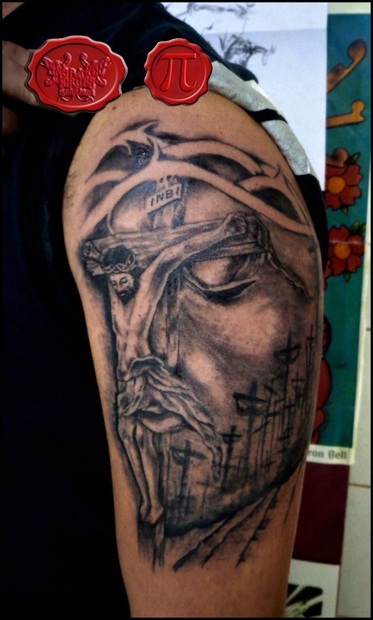 33 Best 3D Tattoo Of Jesus Images On Pinterest 3D Ideas And Designs