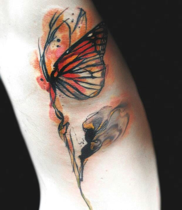 Abstract Butterfly Tattoo Tattoos Piercings Ideas And Designs