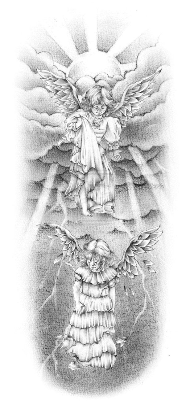 23 Best Angels Tattoo Designs Images On Pinterest Angel Ideas And Designs