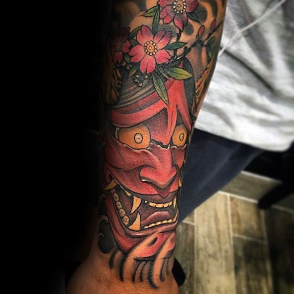 100 Hannya Mask Tattoo Designs For Men Japanese Ink Ideas And Designs