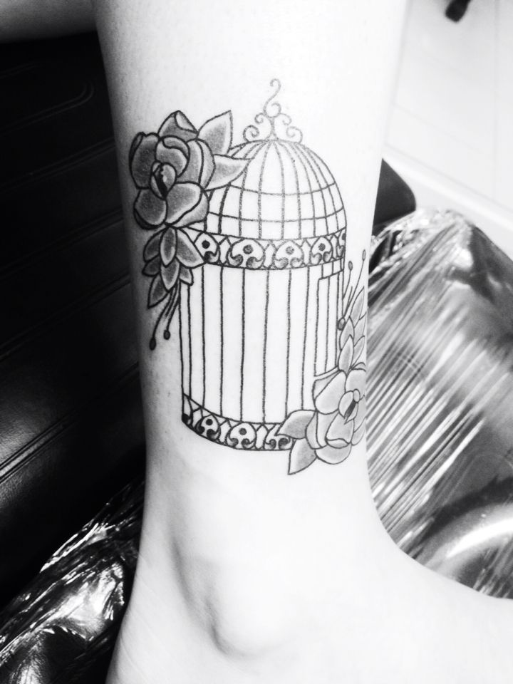 Exactly This Cage Bird Cage Tattoo Permanent Thoughts Ideas And Designs