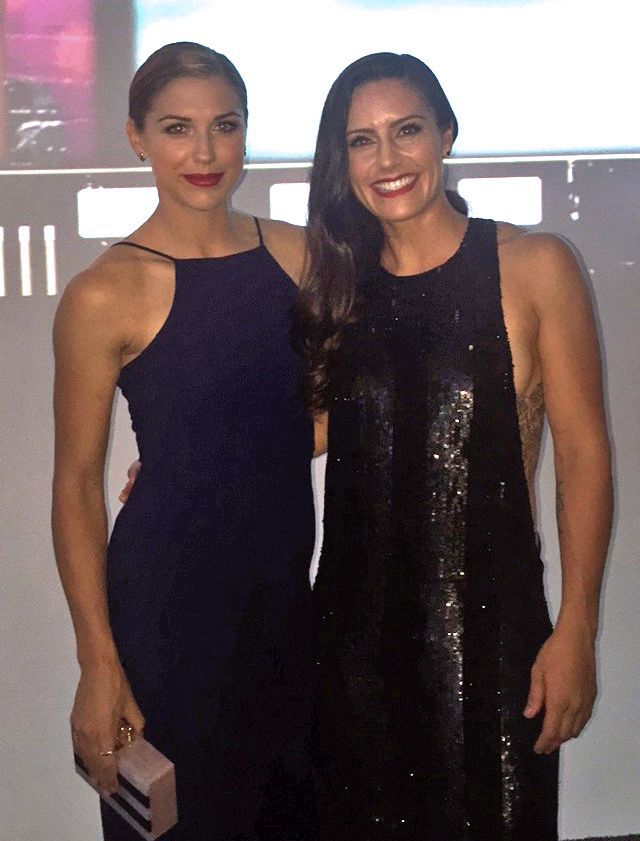 Alex Morgan And Ali Krieger Los Angeles Post World Cup Ideas And Designs
