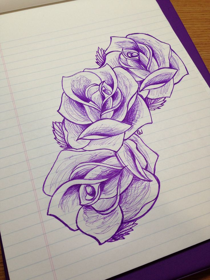 249 Best Tattoo Old School Roses Images On Pinterest Ideas And Designs