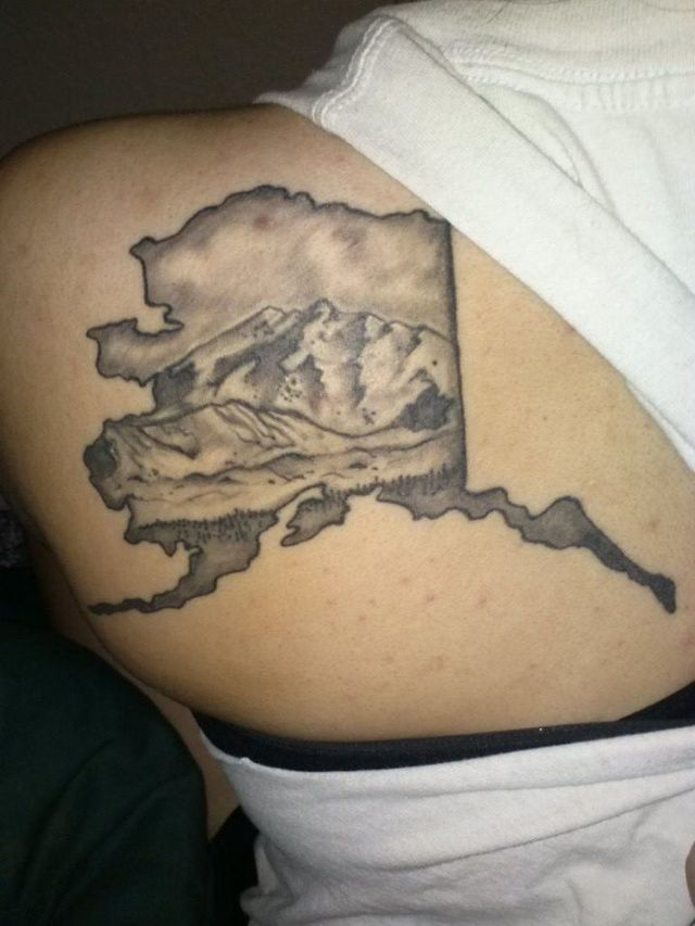 45 Best Alaska In Ink Tattoos From The Last Frontier Ideas And Designs