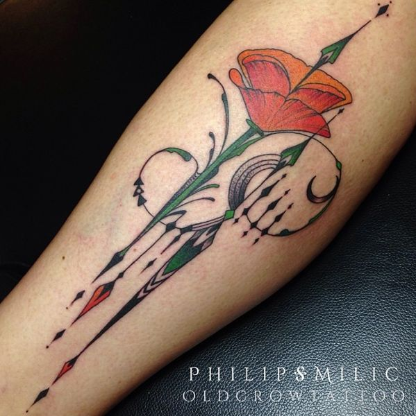 25 Trending California Poppy Tattoo Ideas On Pinterest Ideas And Designs