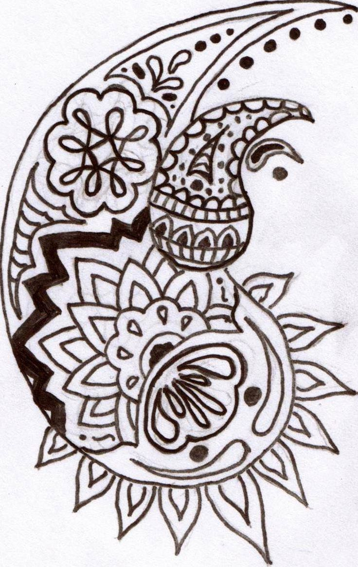 54 Best Art Doodles Paisley Henna Images On Ideas And Designs Original 1024 x 768