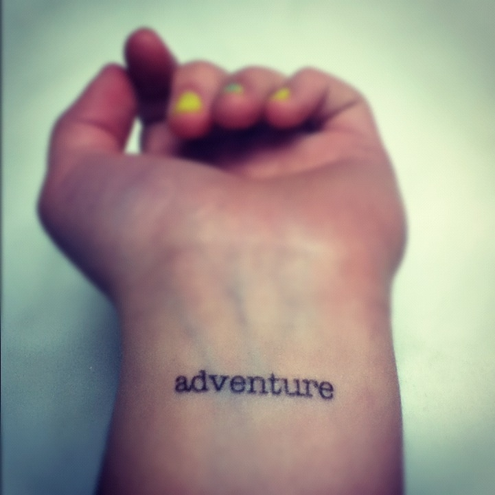 Best 25 Adventure Tattoo Ideas On Pinterest Hike Dare Ideas And Designs