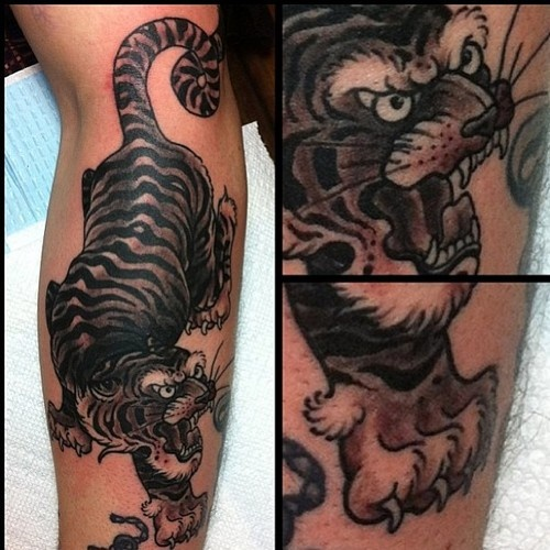 111 Best Tiger Tattoos Images On Pinterest Tattoo Ideas Ideas And Designs