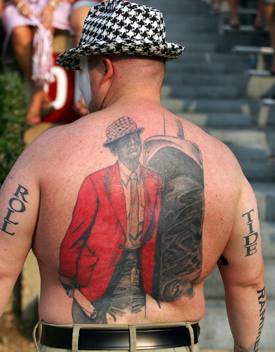 28 Best Crimson Tide Tattoos Images On Pinterest Alabama Ideas And Designs