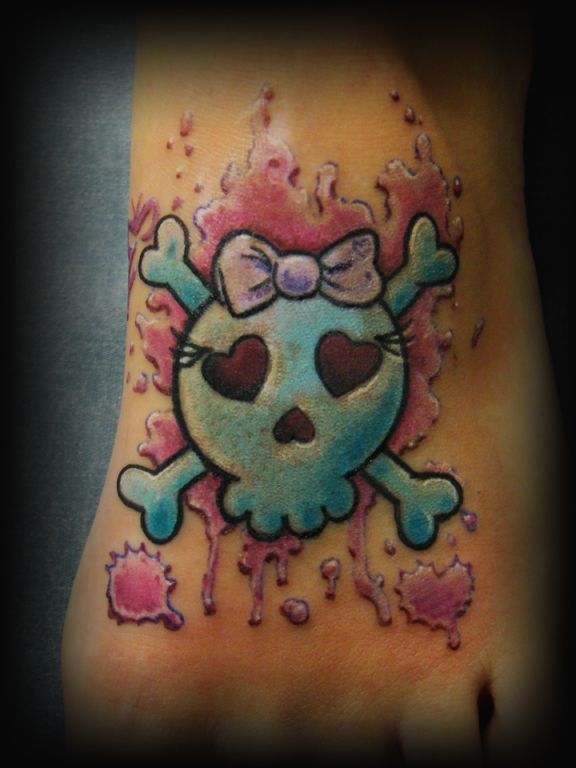 44 Best Girly Tattoo Images On Pinterest Skulls Sugar Ideas And Designs