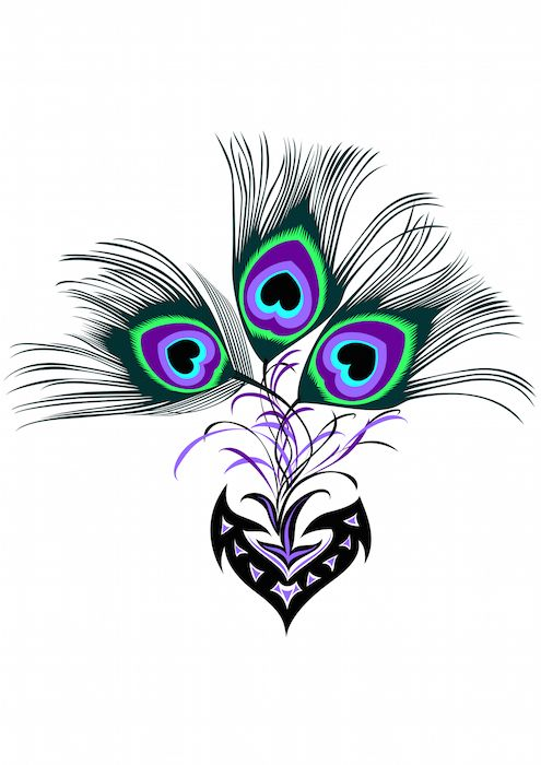 25 Unique Peacock Feather Tattoo Ideas On Pinterest Ideas And Designs