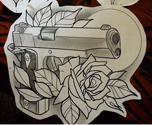 Colt 1911 Tattoos Drawings Art Tattoos Ideas And Designs