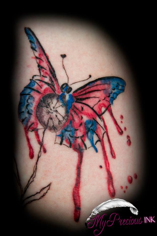 Best 25 Watercolor Butterfly Tattoo Ideas On Pinterest Ideas And Designs
