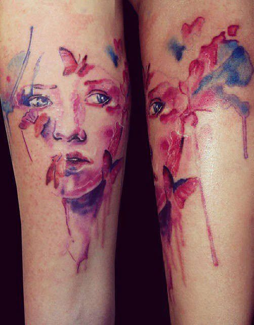 603 Best Watercolor Tattoos Images On Pinterest Water Ideas And Designs