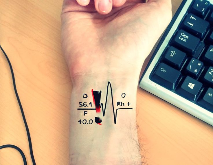 12 Best Blood Type *Rg*N Donor Tattoos Images On Ideas And Designs
