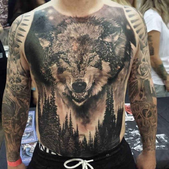 22 Best 3D Wolf Tattoos Watercolors Images On Pinterest Ideas And Designs
