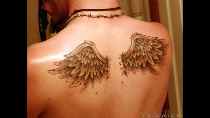 Cat With Angel Wings Tattoo 3D Angel Wing Tattoos Back Cat With Angel Wings Tattoos Tattoo Ideas And Designs